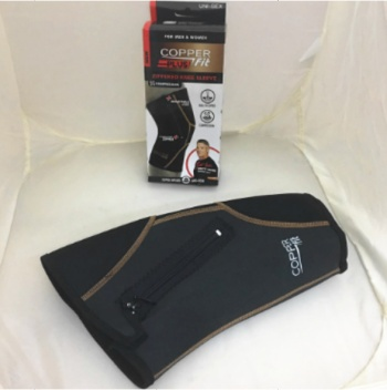 TV sports fitness equipment COPPER PLUS Fity sports knee pads