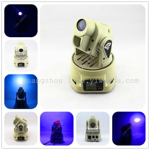 Direct manufacturers LED lamp lights dance version of the classic 15W pattern of small shake headlights
