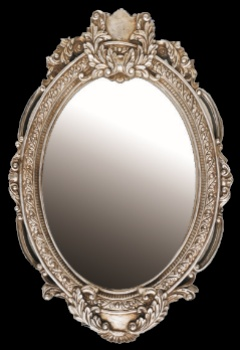 欧式画框 艺术镜框 花式复古镜框 古典墙饰挂镜 椭圆镜