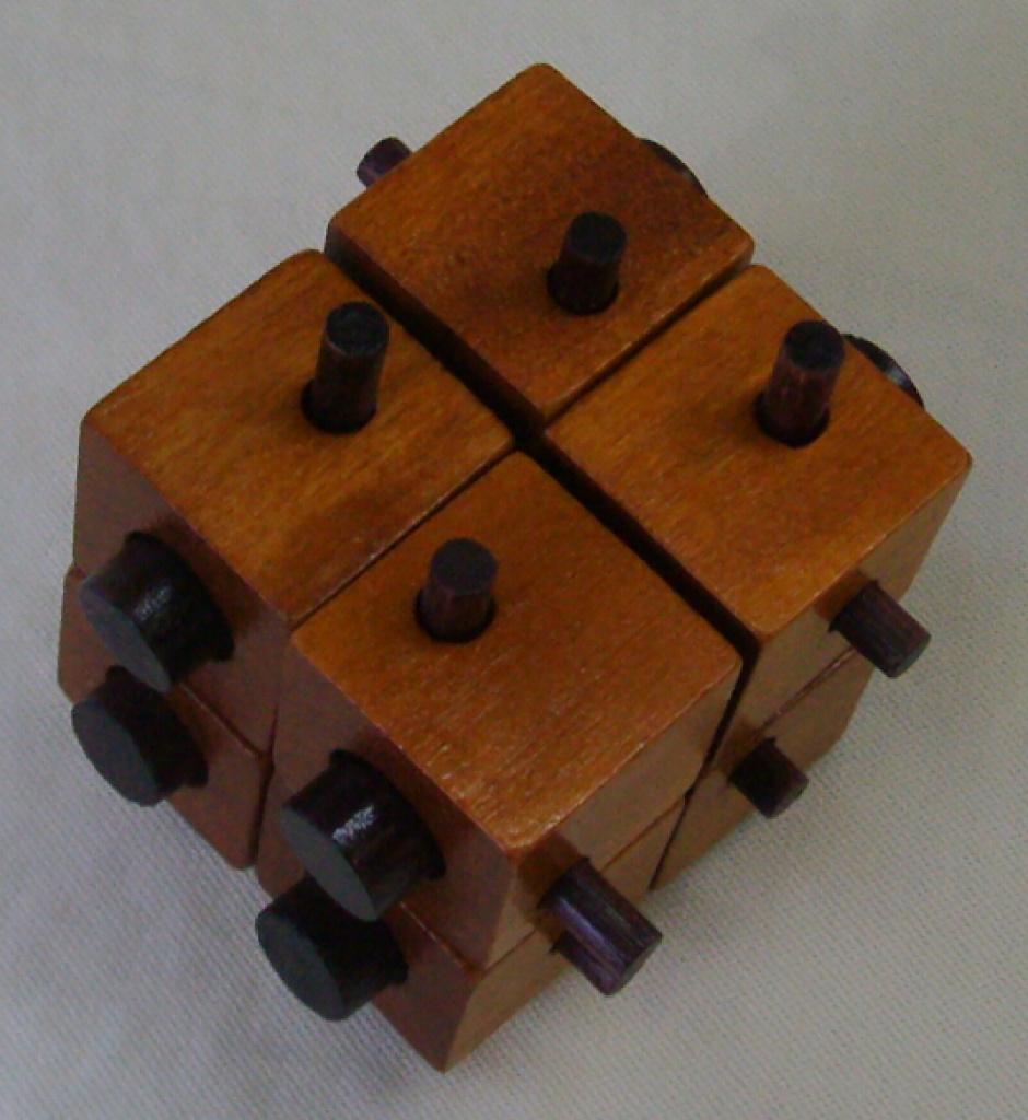 孔明锁,八方块