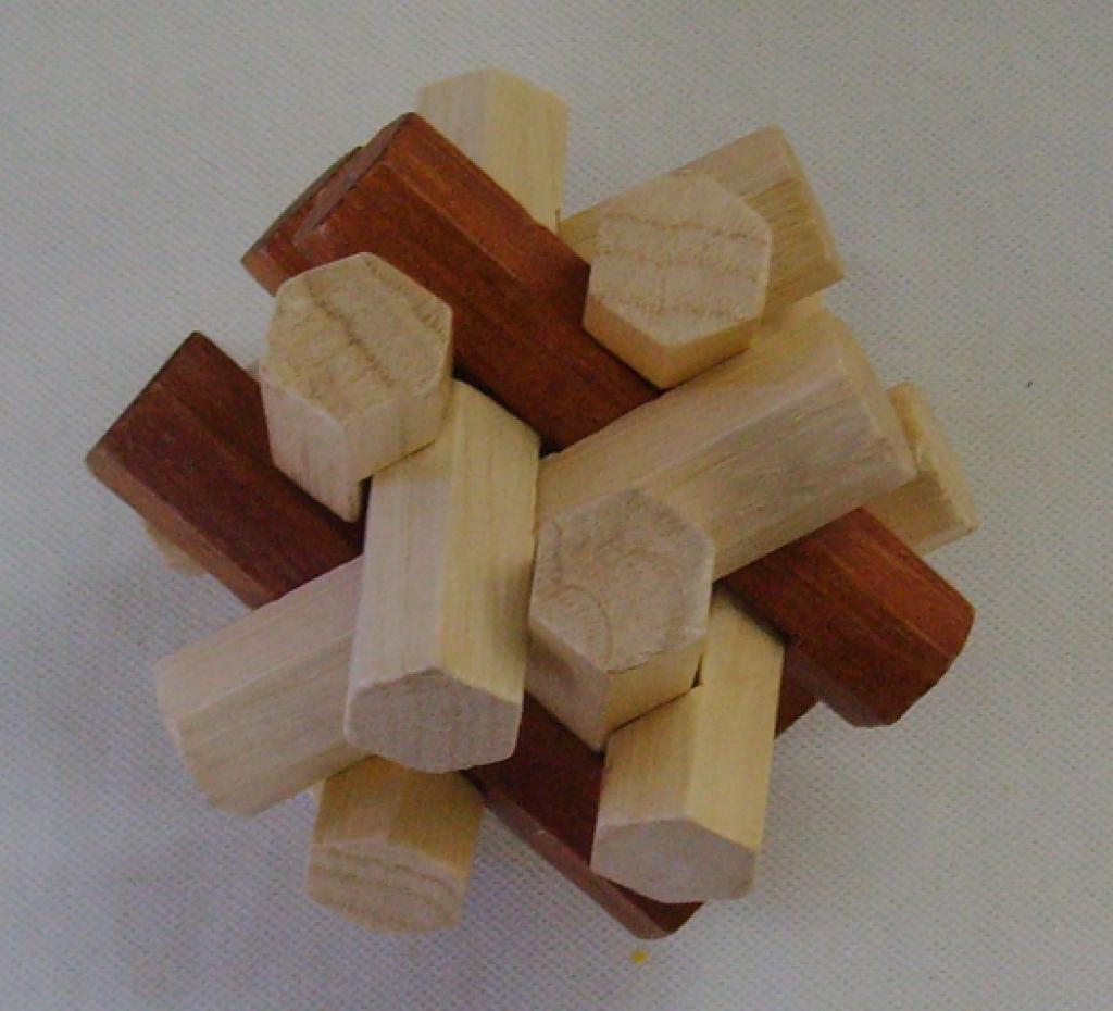 孔明锁,六角十二姐妹