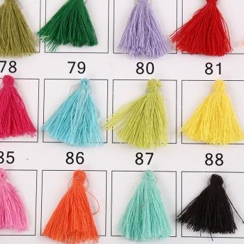 4 cm DIY small tassel dress crafts accessories