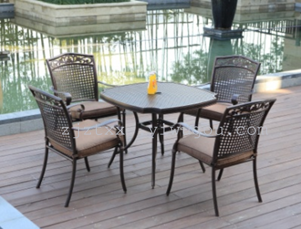 supply outdoor furniture aluminum chairs garden balcony chairs