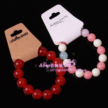 A large supply of DIY jewelry accessories necklace card Bracelet card necklace can be equipped with the bag