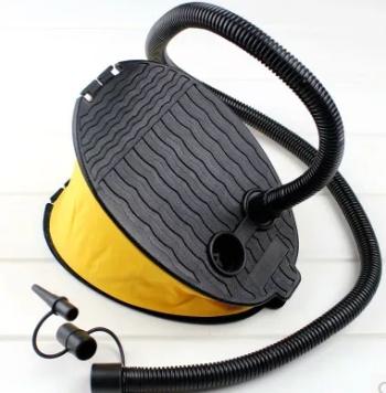 Large outdoor air cushion foot pump