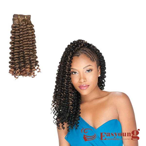 亿阳假发视频接发黑人辫子hairweave非洲发珈曲假发叶图片