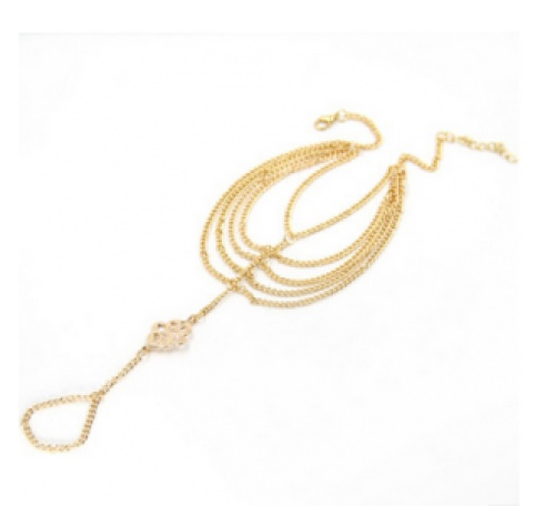 The gold chain and foreign trade summer selling jewelry Anklets auspicious clouds Anklet