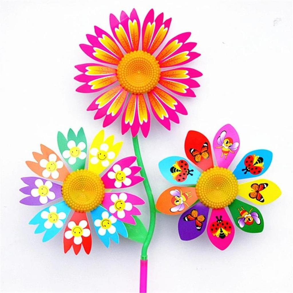 卡通塑料 三朵太阳花