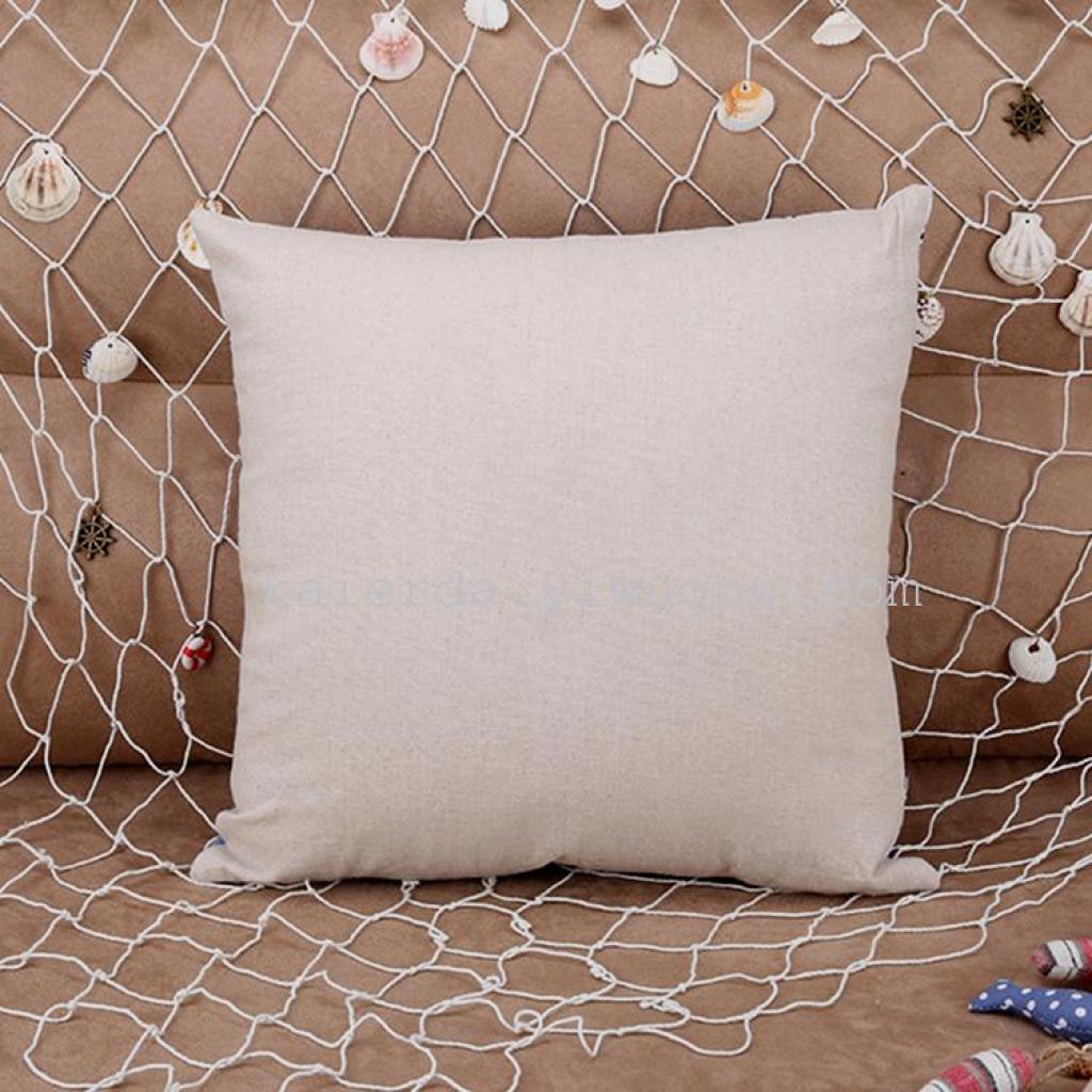 厂家定制加厚棉麻创意家居沙发靠枕 汽车办公室靠垫 个性抱枕