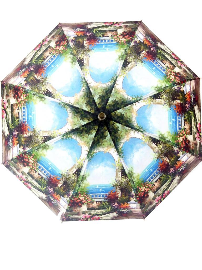 油画风景poe 雨伞 磨砂雨伞