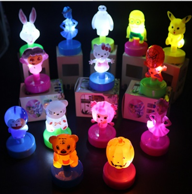 The new creative cartoon toys electric luminous lamp wholesale stalls selling pat