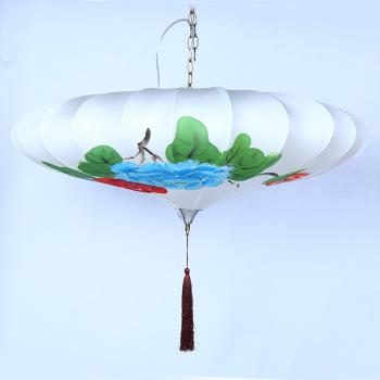 The Lantern Festival palace lantern umbrella hand-painted corridor simple decoration decorative accessories