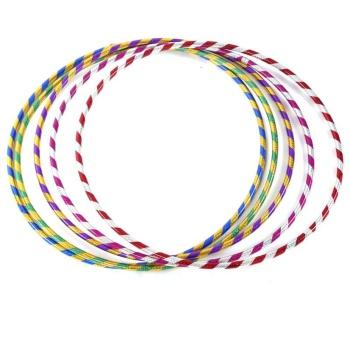 Radium color hula hoop and abdomen massage slimming hula hoop
