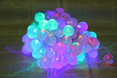 Indoor and outdoor LED lights flashing light lamp neon lantern festival decoration bead string