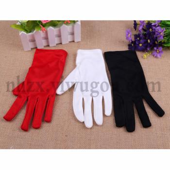 Children's etiquette kids dancing gloves gloves gloves solid D100