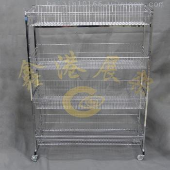 H boutique four layer four layer storage basket basket shelf display floor boutique
