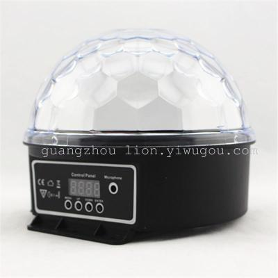 Factory direct sales stage light LED lamp 6 color 3W digital crystal ball