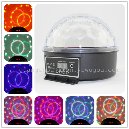 Factory direct sales stage light LED lamp 9 color 1W digital crystal ball