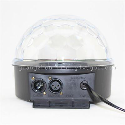Factory direct sales stage light LED lamp 6 color 0.5W digital crystal ball