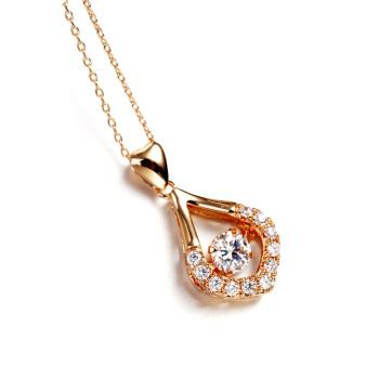 ITALINA Regent zircon necklace Korean hot female clavicle chain accessories