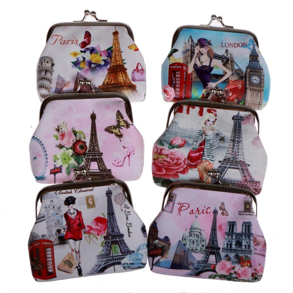 Clip Wallet Bag Coin Mini Handbag Key