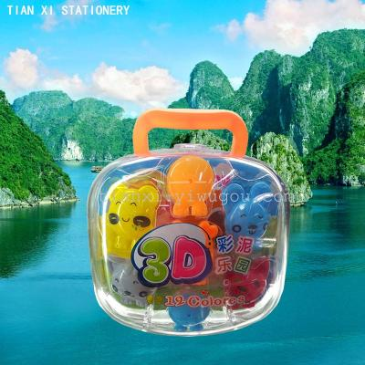 Plasticine color clay modeling clay educational toys 6605  stationery
