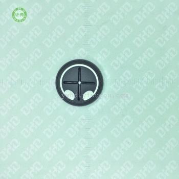 ヘッドフォン・バックルゴム柔らかいゴム・プラスチック・ドロップ電荷衣類-屋外の防風アウターウェアアクセサリーダブルホール