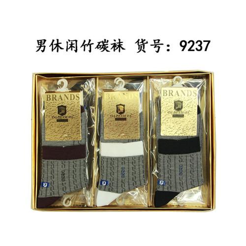 9237 male cotton bamboo charcoal socks ultra breathable mesh socks antibacterial deodorant socks