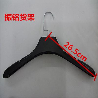 Factory direct sales of men's anti slip black plastic clothes racks