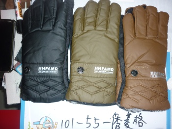 Men's single buckle leisure warm gloves