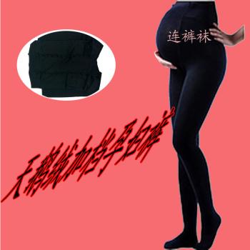 The spring and autumn female velvet pantyhose foot socks nine socks socks Leggings 8218 increase in pregnant women