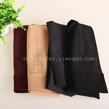Nylon velvet mink thickened Leggings hip foot anti off silk warm pants seamless integration