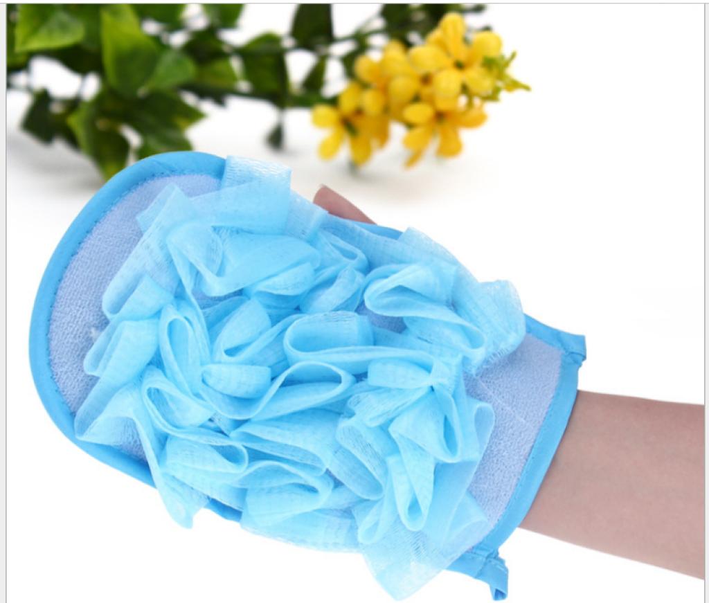 Supply korea double sided bath towel rubdown glove leak for Bathroom w c meaning