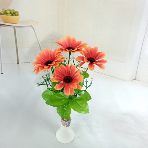 The simulation process of flower flowers artificial flowers 5 spring sunshine Chrysanthemum