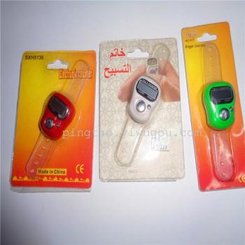 Plastic toys electronic pedometer