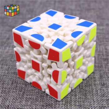 The new gear shaped sliding cube Rubik's cube puzzle professional tutorial