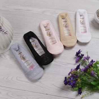 Spring and summer lace boat socks women ship cotton lace socks wholesale fashion ladies short socks