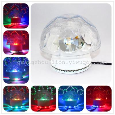 Factory direct new holiday lights LED lights voice-actived small sun mushroom lamp
