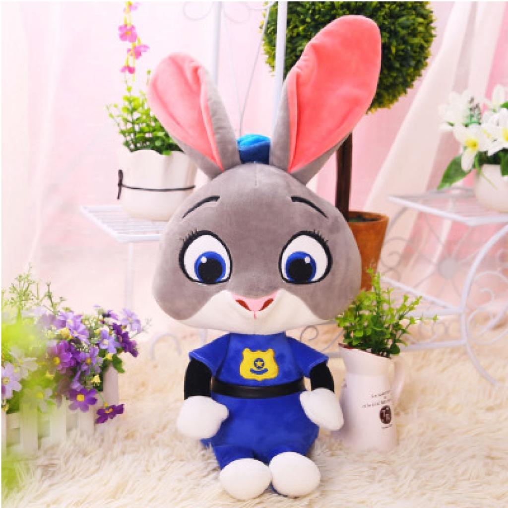 最火疯狂动物城公仔狐狸尼克兔子朱迪毛绒玩具玩偶布娃娃