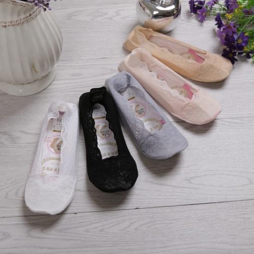 Spring and summer wave boat socks female ship cotton bottom lace socks wholesale fashion ladies short socks