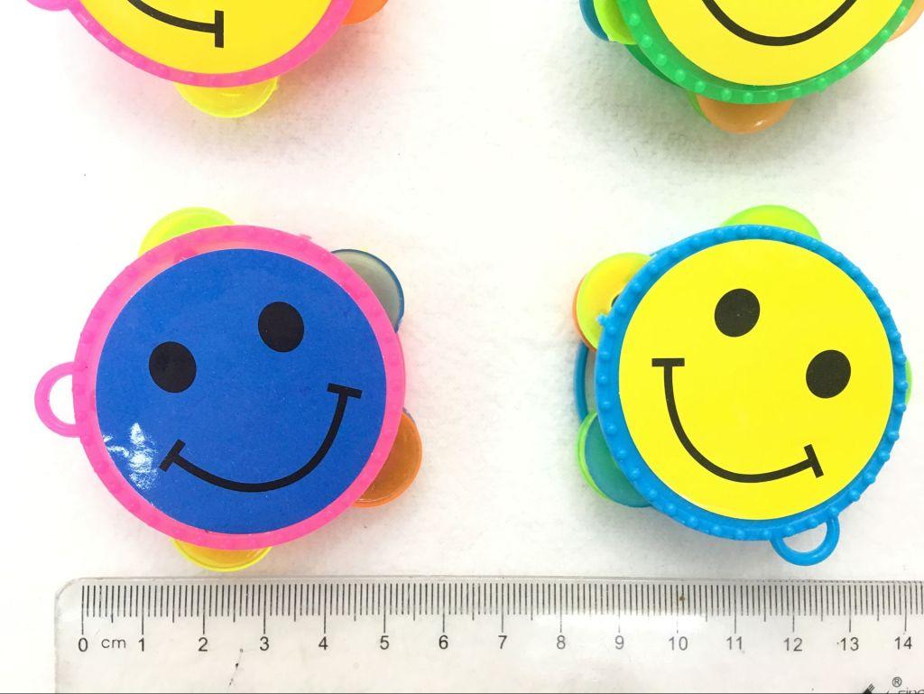 迷你笑脸摇铃 儿童塑料玩具 赠品 派对