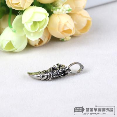 Leading Langya titanium color stainless steel pendant necklace punk fashion