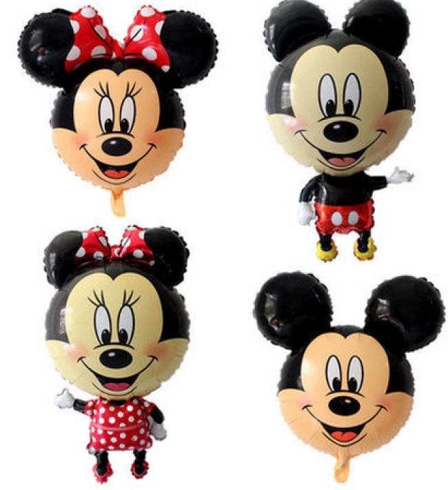 迪士尼卡通米奇米妮铝膜气球