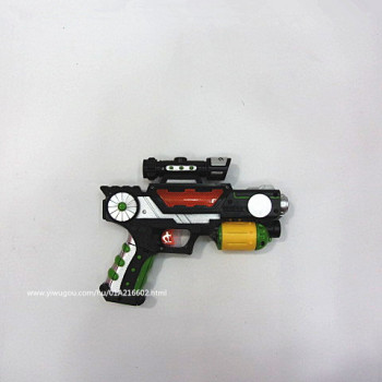 Children's toys wholesale electronic music toy gun with light projector