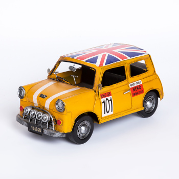 Medium mini car decoration model