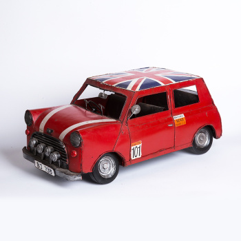 Mini car model.