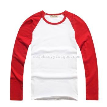 Leica fitting long sleeved Raglan sportswear DIY custom Mens Clothing Group