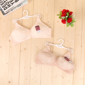 658 sexy lace no sponge no steel ring soft breathable bra, middle and old bra