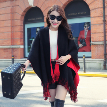 All-match Fashion Scarf thickened in the long cashmere sweater tassel cardigan