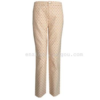 commodity counters dingguagua colour cotton trousers leisure pants nine trousers Haren pants pencil pants feet